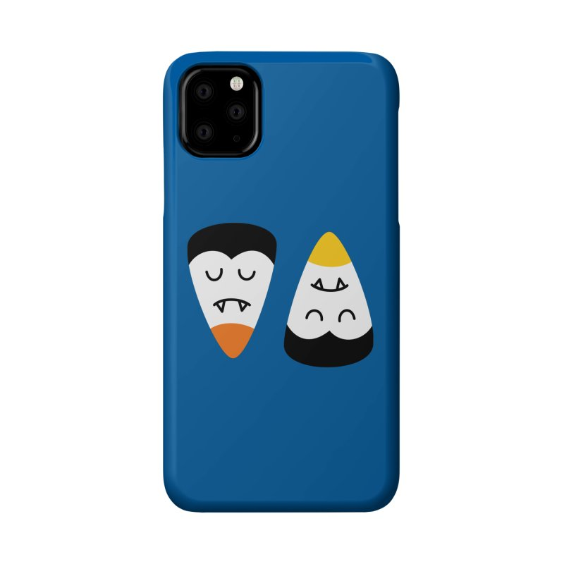Vampire Candy Corn Accessories Phone Case by Illustrations by Phil