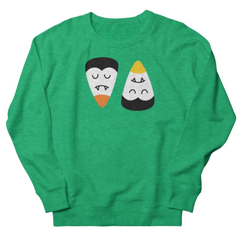 Vampire Candy Corn Women's Sweatshirt by Illustrations by Phil