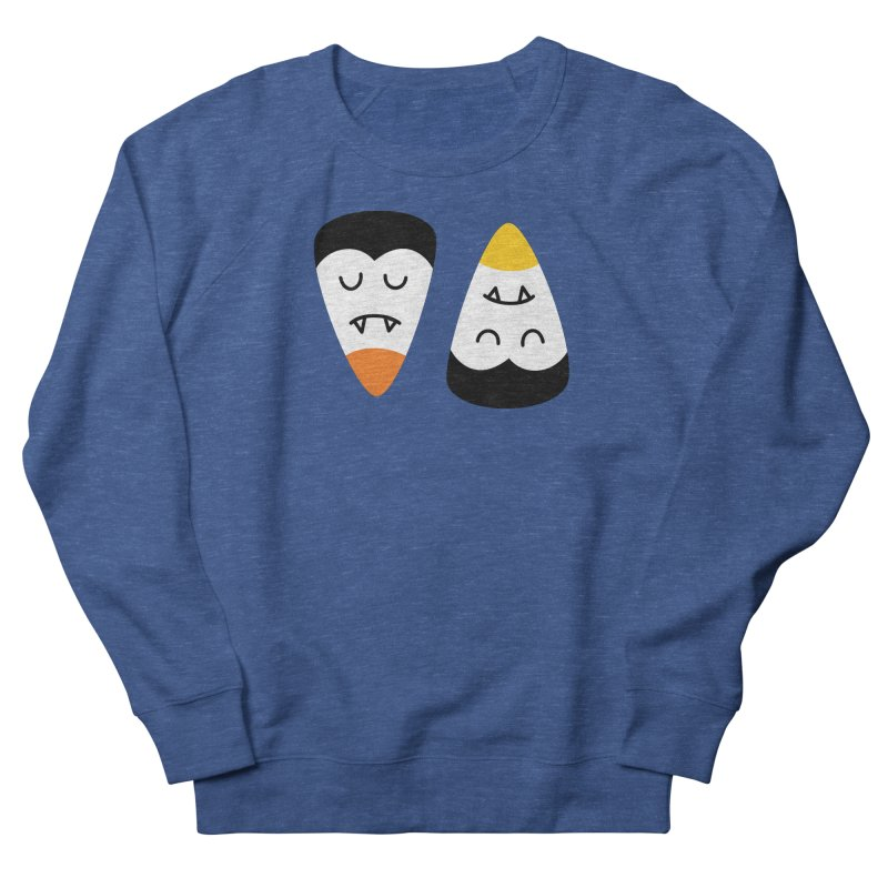 Vampire Candy Corn Men's Sweatshirt by Illustrations by Phil