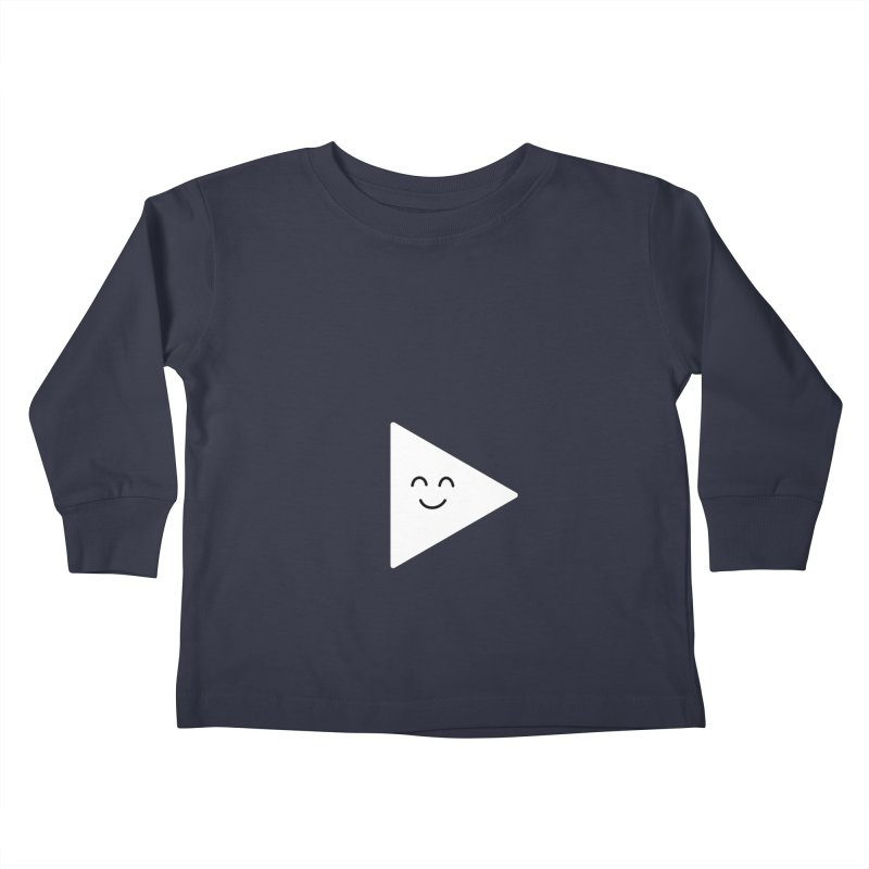 Let's Play! Kids Toddler Longsleeve T-Shirt by Illustrations by Phil