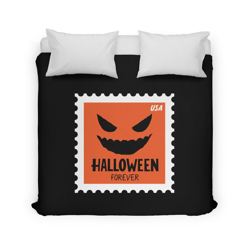Halloween Forever! Home Duvet by Illustrations by Phil