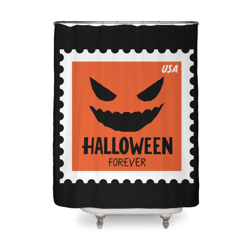 Halloween Forever! Home Shower Curtain by Illustrations by Phil