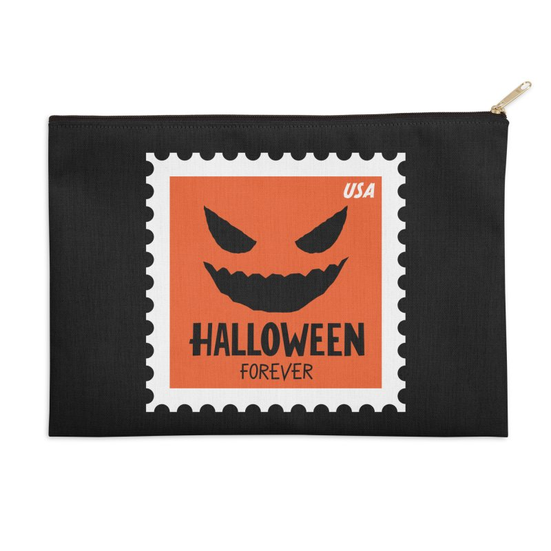 Halloween Forever! Accessories Zip Pouch by Illustrations by Phil
