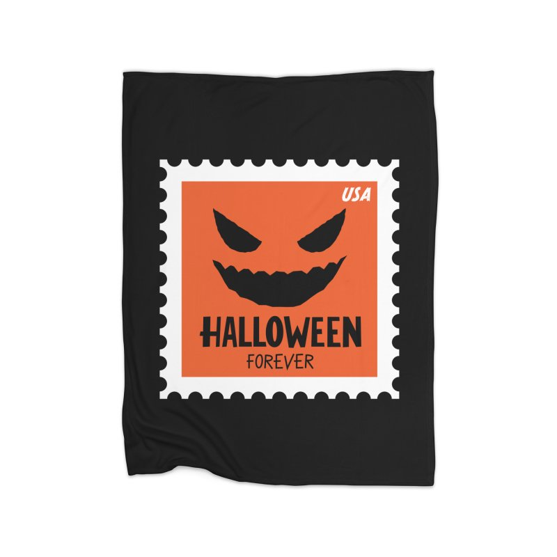Halloween Forever! Home Blanket by Illustrations by Phil