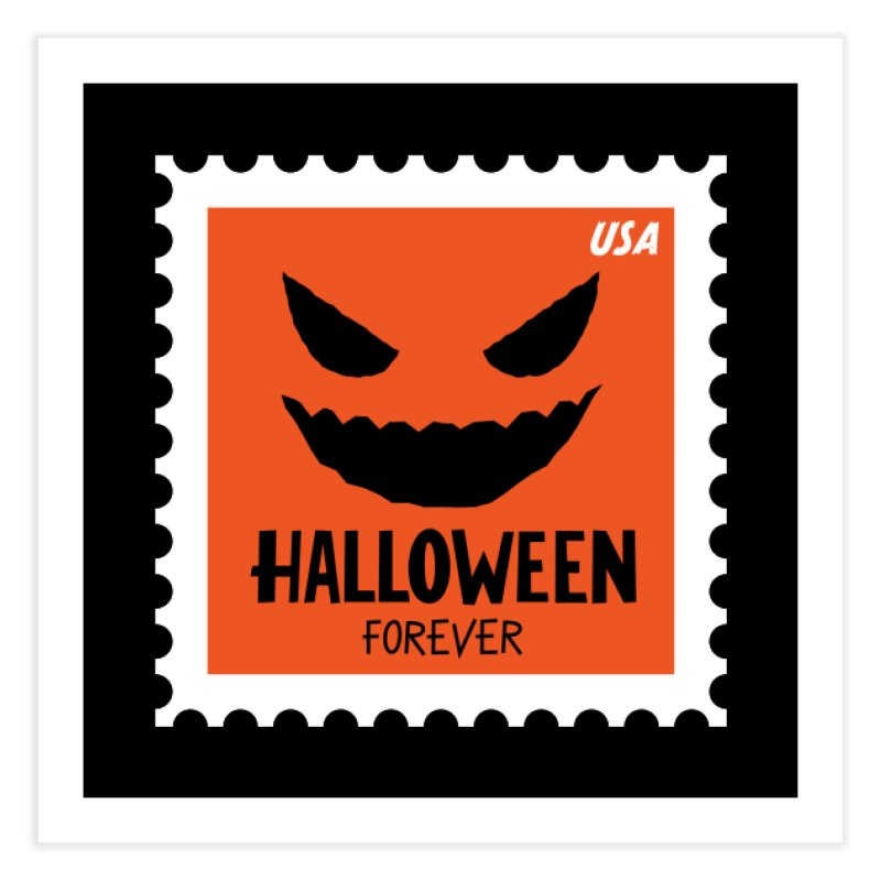 Halloween Forever! Home Fine Art Print by Illustrations by Phil