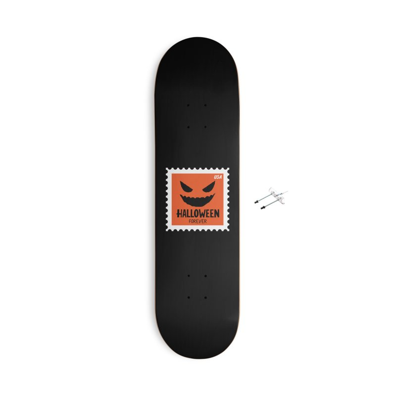 Halloween Forever! Accessories Skateboard by Illustrations by Phil