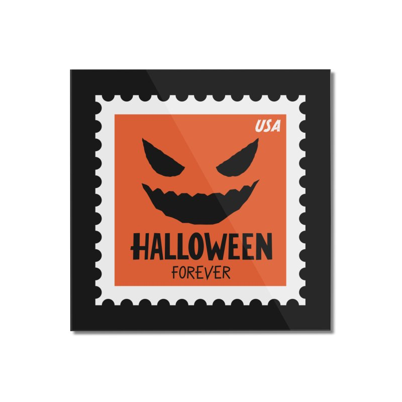 Halloween Forever! Home Mounted Acrylic Print by Illustrations by Phil