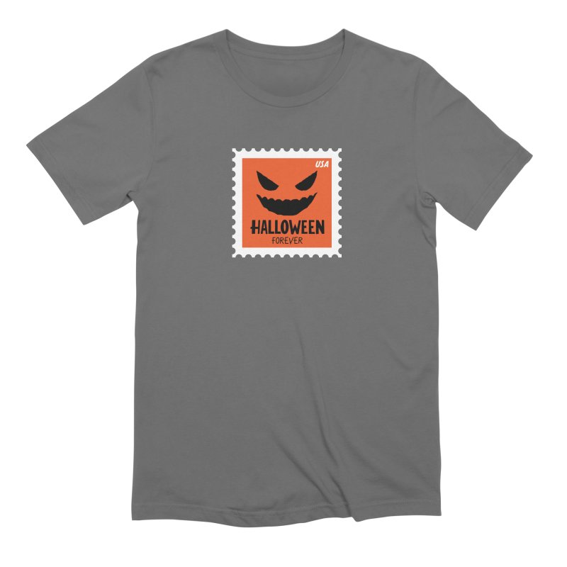 Halloween Forever! Men's T-Shirt by Illustrations by Phil