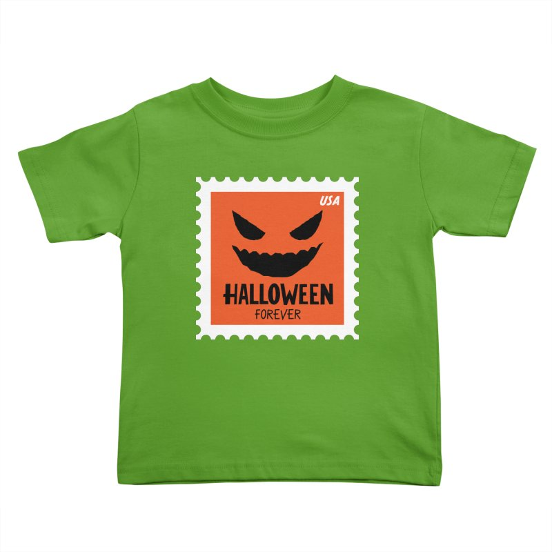 Halloween Forever! Kids Toddler T-Shirt by Illustrations by Phil