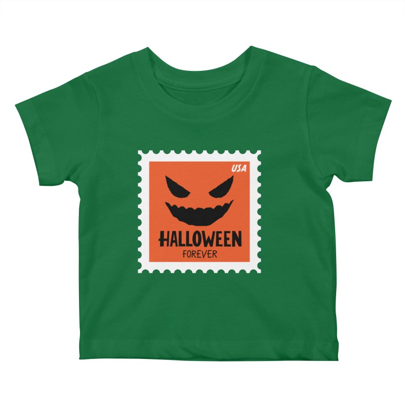 Halloween Forever! Kids Baby T-Shirt by Illustrations by Phil