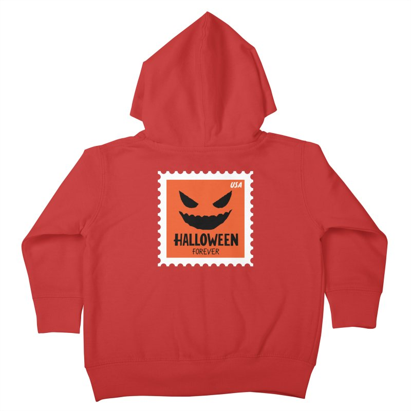 Halloween Forever! Kids Toddler Zip-Up Hoody by Illustrations by Phil