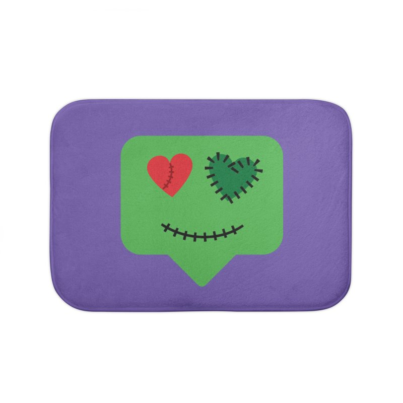 Frankie say trick-or-treat Home Bath Mat by Illustrations by Phil