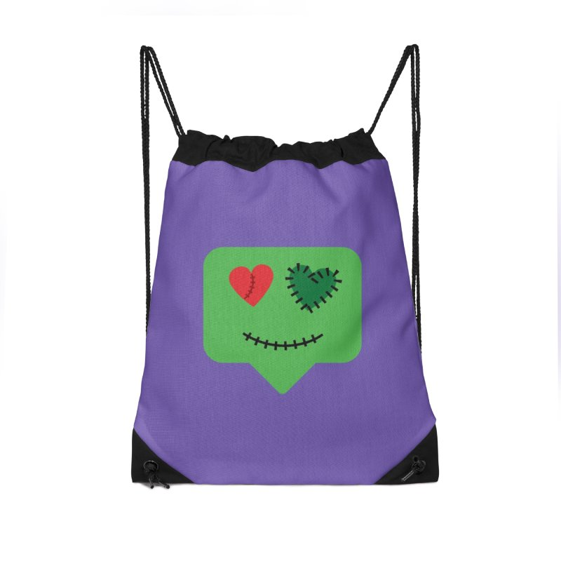 Frankie say trick-or-treat Accessories Bag by Illustrations by Phil