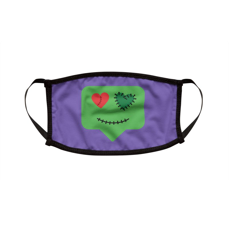 Frankie say trick-or-treat Accessories Face Mask by Illustrations by Phil