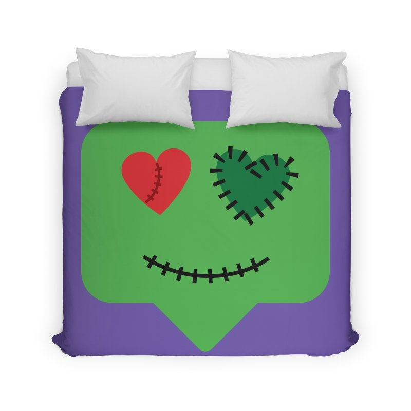 Frankie say trick-or-treat Home Duvet by Illustrations by Phil