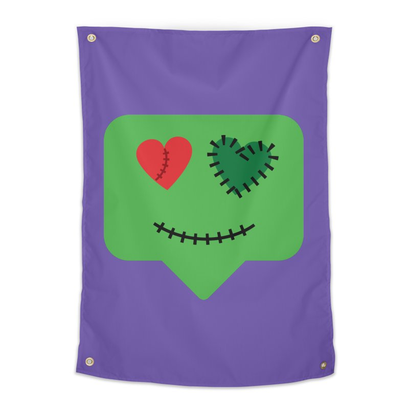 Frankie say trick-or-treat Home Tapestry by Illustrations by Phil