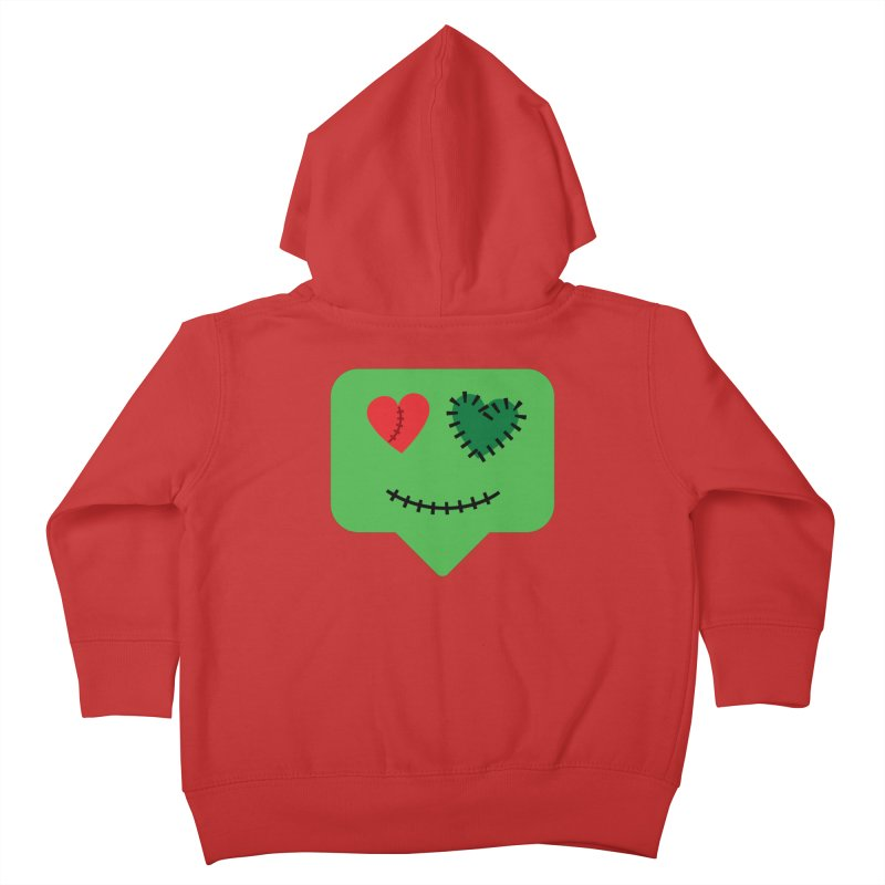 Frankie say trick-or-treat Kids Toddler Zip-Up Hoody by Illustrations by Phil