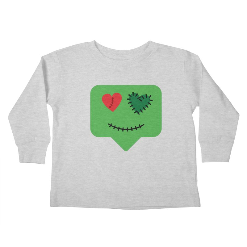 Frankie say trick-or-treat Kids Toddler Longsleeve T-Shirt by Illustrations by Phil