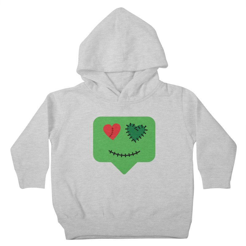 Frankie say trick-or-treat Kids Toddler Pullover Hoody by Illustrations by Phil