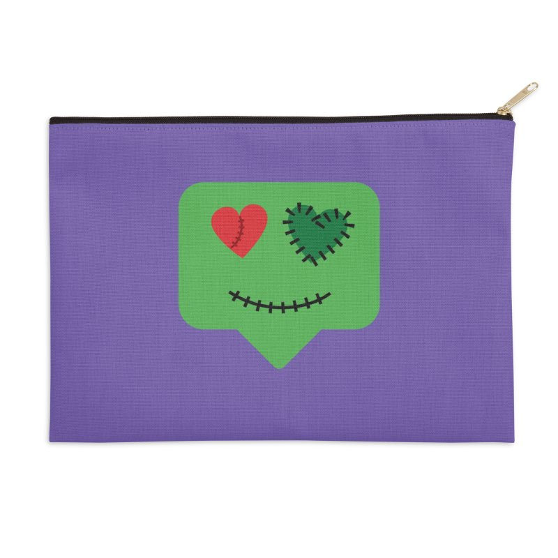 Frankie say trick-or-treat Accessories Zip Pouch by Illustrations by Phil