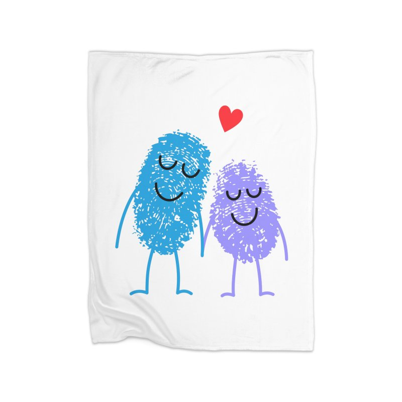 Prints, Charming Home Blanket by Illustrations by Phil