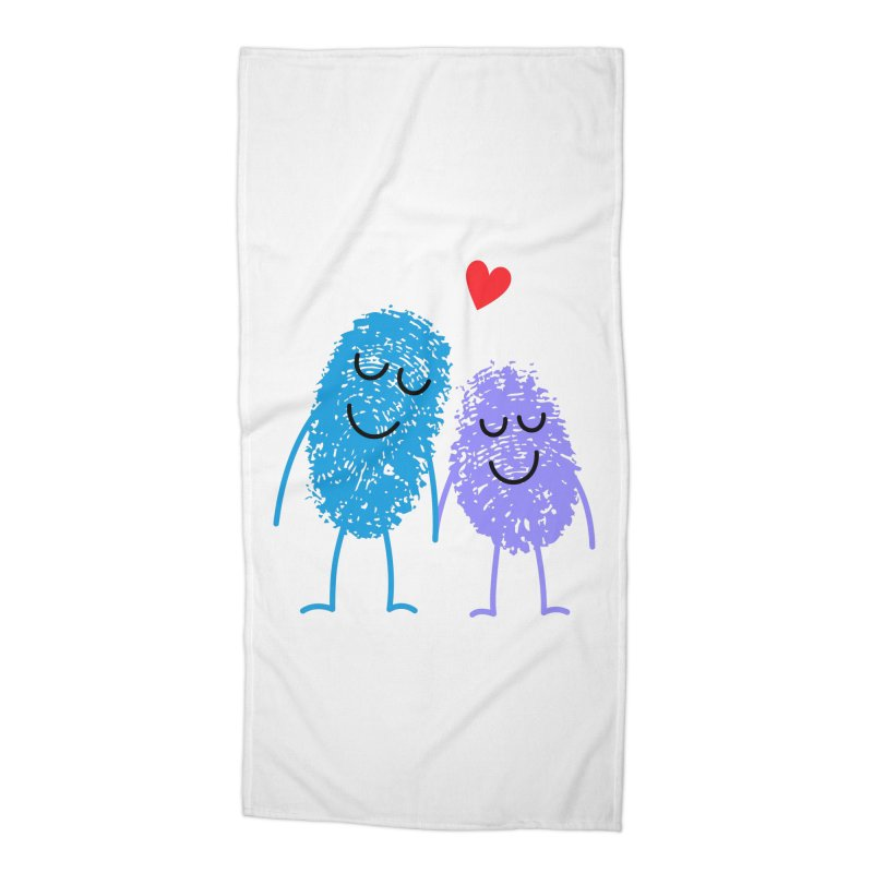 Prints, Charming Accessories Beach Towel by Illustrations by Phil