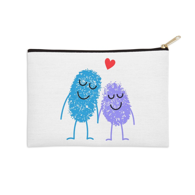 Prints, Charming Accessories Zip Pouch by Illustrations by Phil