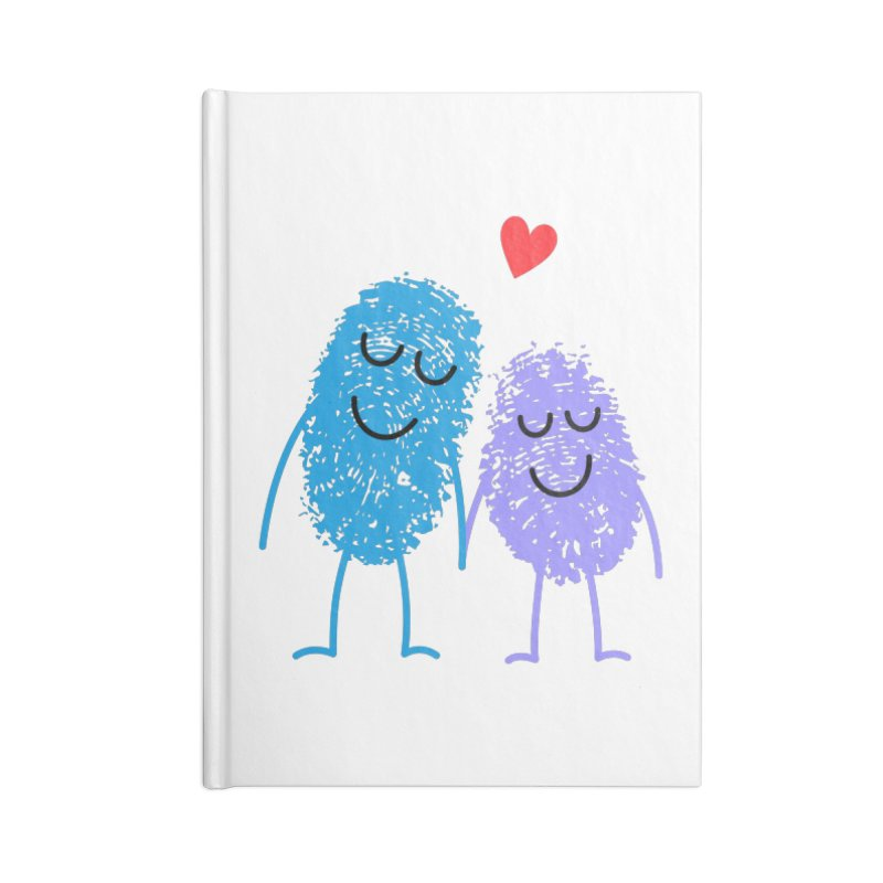 Prints, Charming Accessories Notebook by Illustrations by Phil