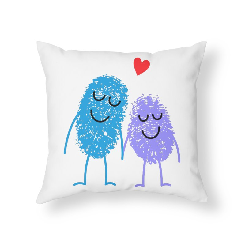 Prints, Charming Home Throw Pillow by Illustrations by Phil