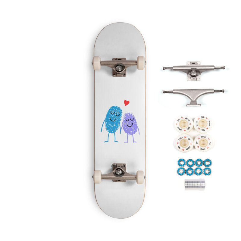 Prints, Charming Accessories Skateboard by Illustrations by Phil