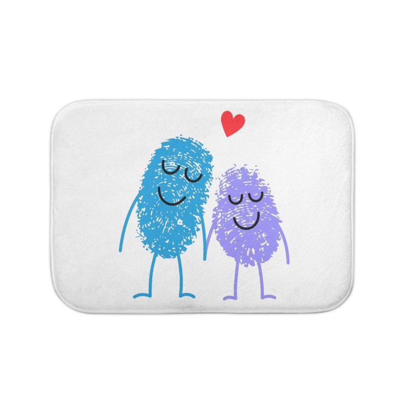Prints, Charming Home Bath Mat by Illustrations by Phil
