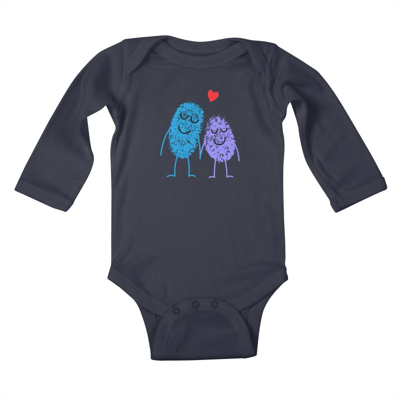 Prints, Charming Kids Baby Longsleeve Bodysuit by Illustrations by Phil