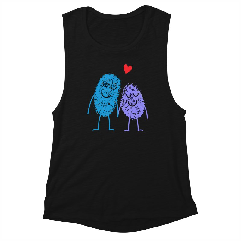 Prints, Charming Women's Tank by Illustrations by Phil