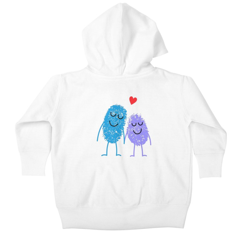 Prints, Charming Kids Baby Zip-Up Hoody by Illustrations by Phil