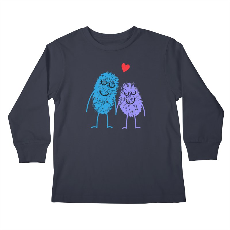 Prints, Charming Kids Longsleeve T-Shirt by Illustrations by Phil