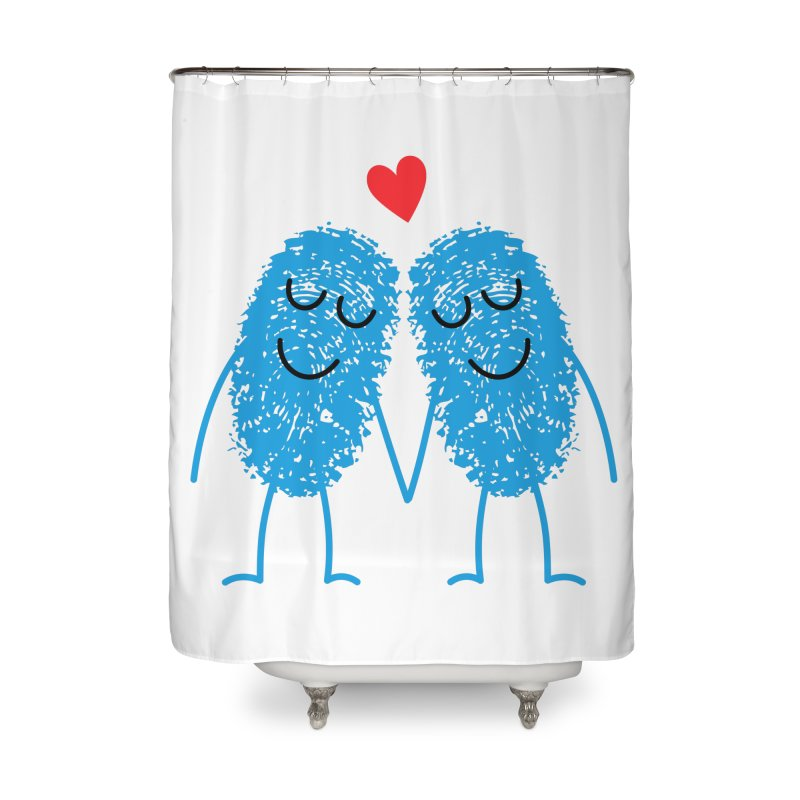 Charming Prints Home Shower Curtain by Illustrations by Phil