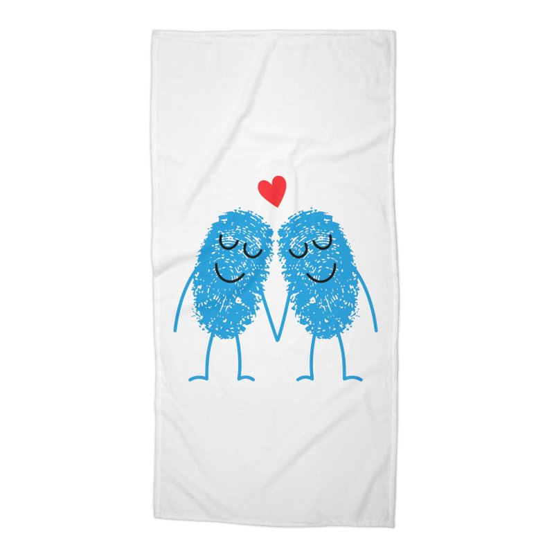 Charming Prints Accessories Beach Towel by Illustrations by Phil