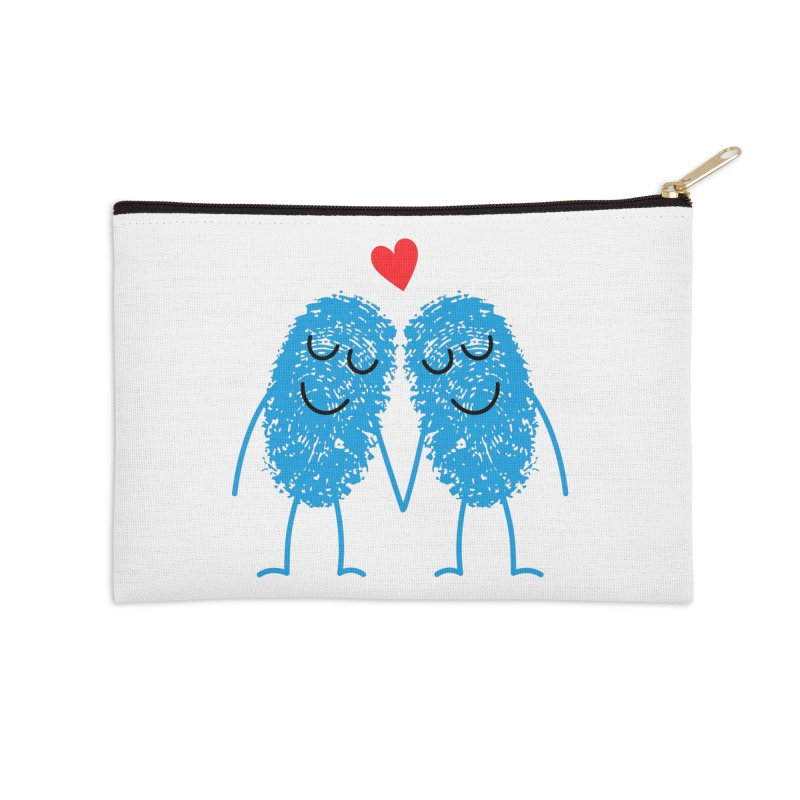 Charming Prints Accessories Zip Pouch by Illustrations by Phil