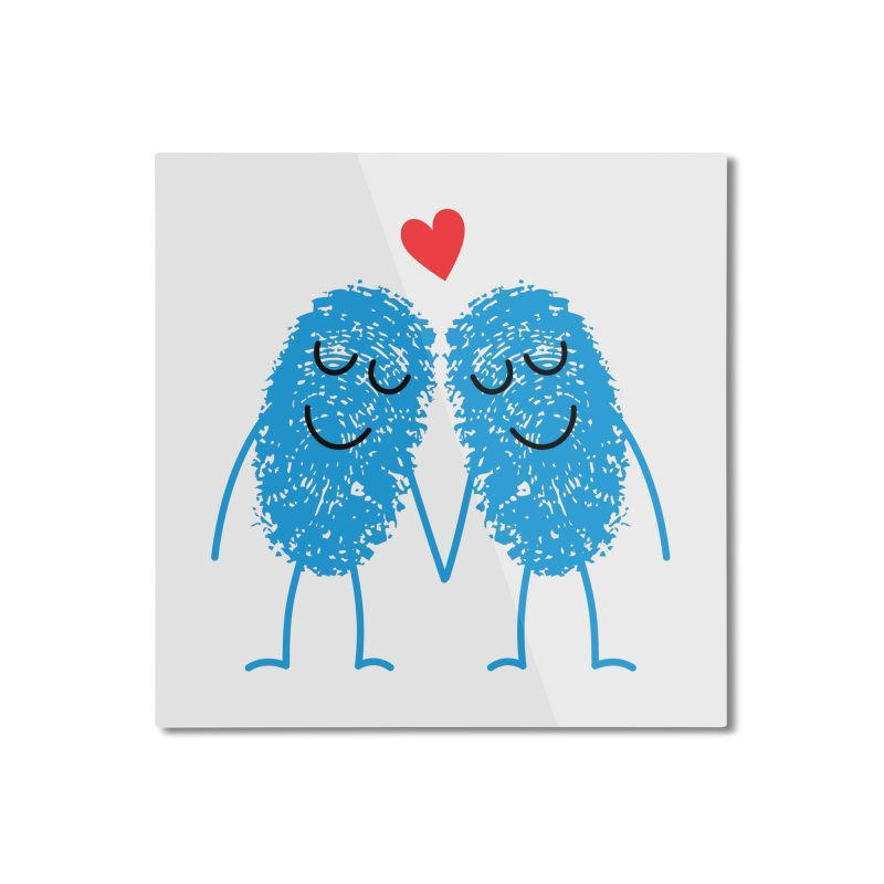 Charming Prints Home Mounted Aluminum Print by Illustrations by Phil