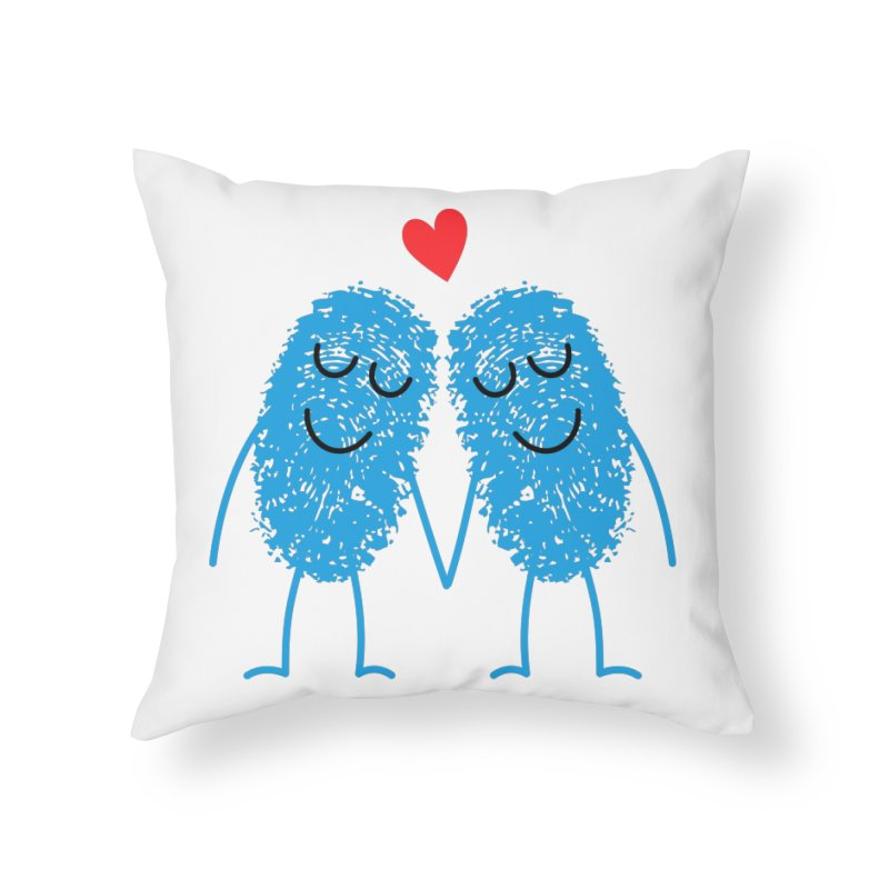 Charming Prints Home Throw Pillow by Illustrations by Phil