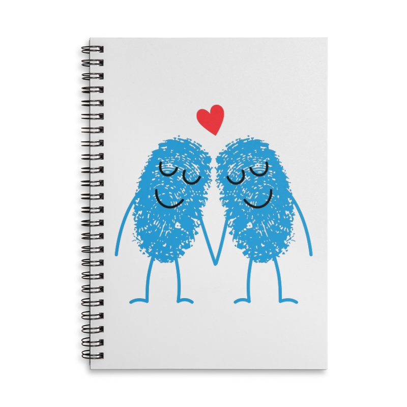 Charming Prints Accessories Notebook by Illustrations by Phil
