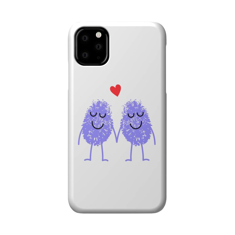 Fingerprint friends Accessories Phone Case by Illustrations by Phil