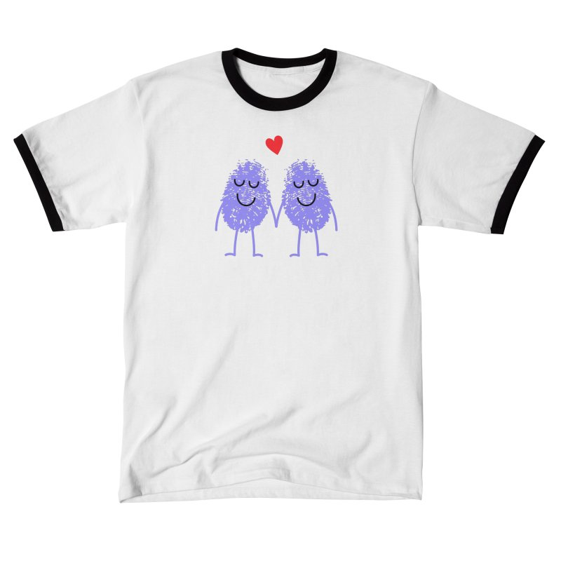 Fingerprint friends Men's T-Shirt by Illustrations by Phil