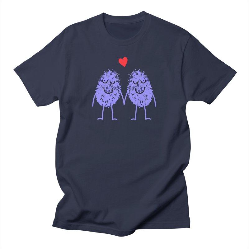 Fingerprint friends Men's T-Shirt by Illustrations by Phil
