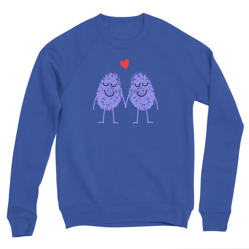 Fingerprint friends Women's Sweatshirt by Illustrations by Phil