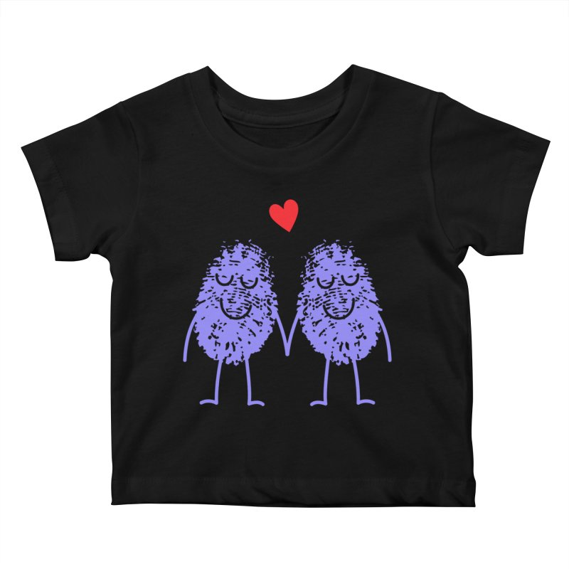 Fingerprint friends Kids Baby T-Shirt by Illustrations by Phil