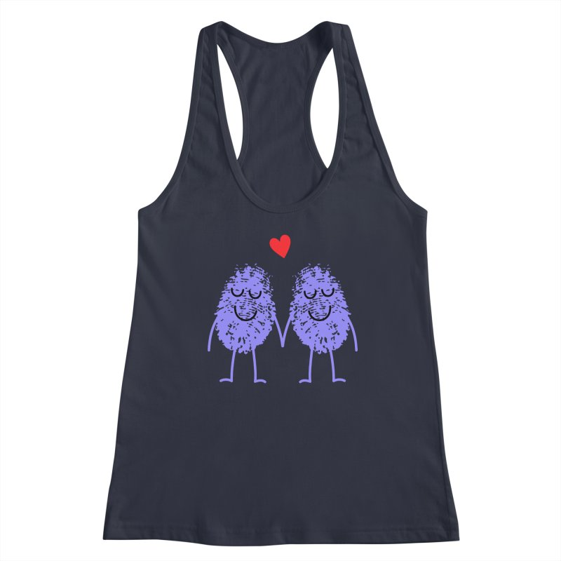 Fingerprint friends Women's Tank by Illustrations by Phil