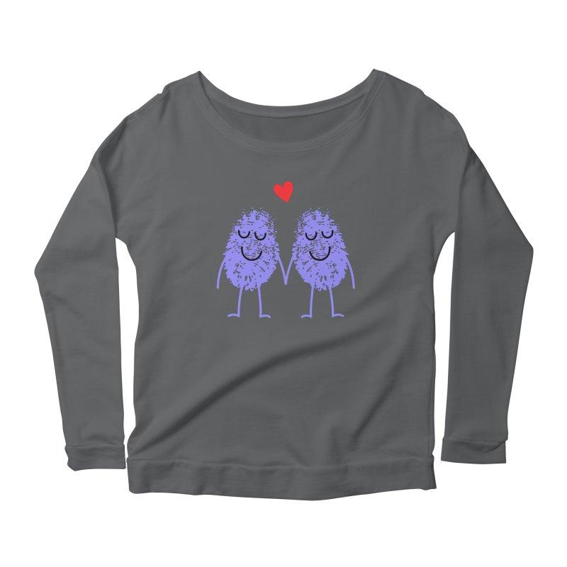 Fingerprint friends Women's Longsleeve T-Shirt by Illustrations by Phil