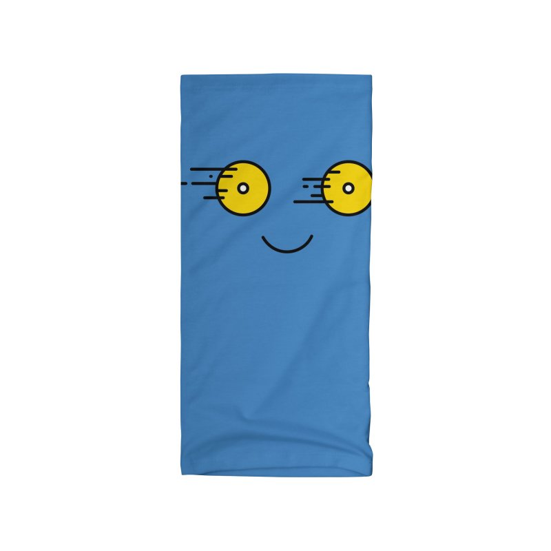 Happy Speedy Wheels Accessories Neck Gaiter by Illustrations by Phil