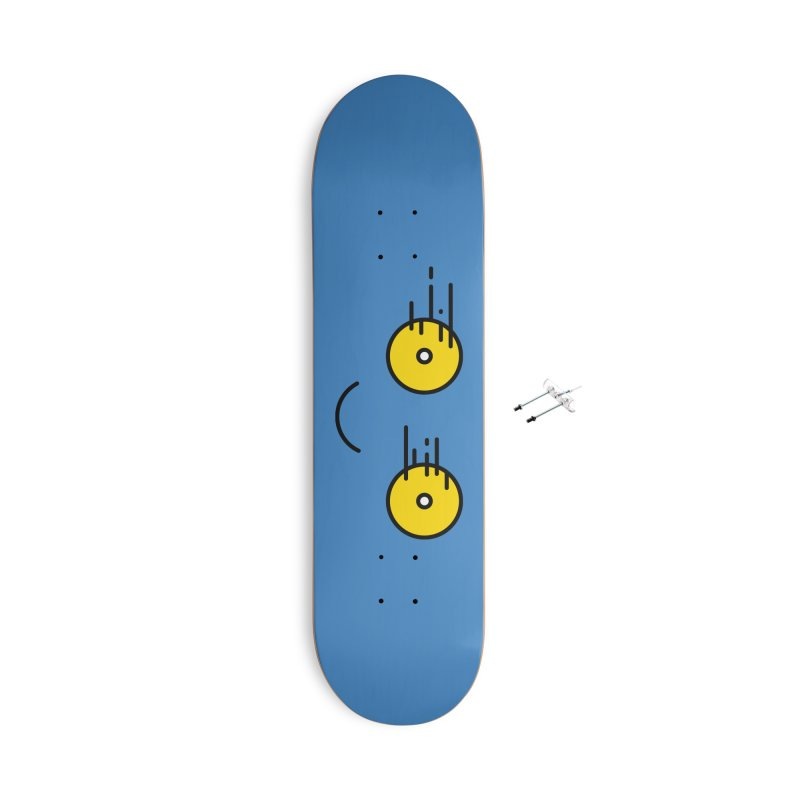 Happy Speedy Wheels Accessories Skateboard by Illustrations by Phil